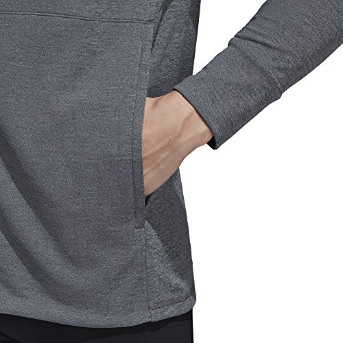 adidas Herren Climacool Textured Kapuzenjacke Grau