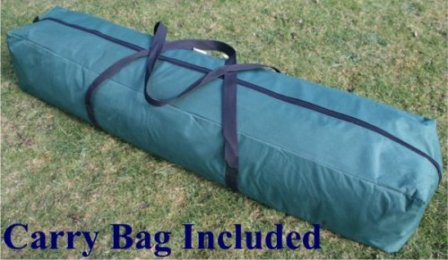 Airwave 3x3mtr Pop Up Waterproof Gazebo Green with 2 WindBars and 4 Leg Weight Bags (8 Colours Available)