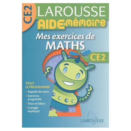 Mes exercices de maths CE2