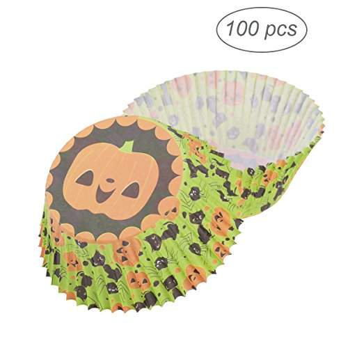 ounona wrap' S Cupcake Liner Pumpkin Muffin Cases Party Favors Cake Cup für Halloween Stäbe