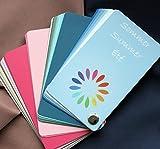 Farbpass Sommer (cool Summer) als Fächer mit 30 typgechten Farben zur Farbanalyse, Farbberatung für Farbpass Sommer (cool Summer) als Fächer mit 30 typgechten Farben zur Farbanalyse, Farbberatung
