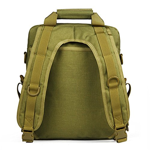 Free Soldier Outdoor Multifuncational Dual Rucksack Camping Wandern Reise Backbag 35,6 cm Laptop Tasche Mud Color