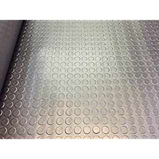 Shield Autocare 3 meter x 1.5 meter Roll Heavy Duty Rubber Flooring Coin Style
