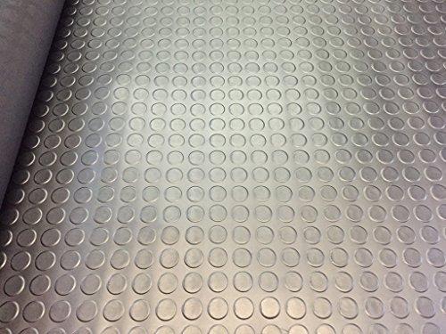 3m x 1,5m | genoppter Garagenbodenbelag aus Gummi | 8Größen zur Auswahl bei diesem Angebot | 3mm-dicker Bodenbelag| Hochwertig | 300x 150cm