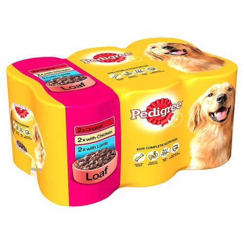 pedigree-dog-food-cans-meat-selection-in-loaf-6-x-400g