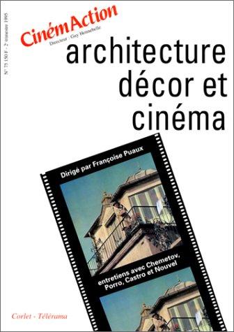 Architecture, dcor et cinma