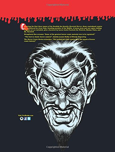 Haunted Horror: Banned Comics from the 1950s: (Volume 1) (Chilling Archives of Horror Comics!)