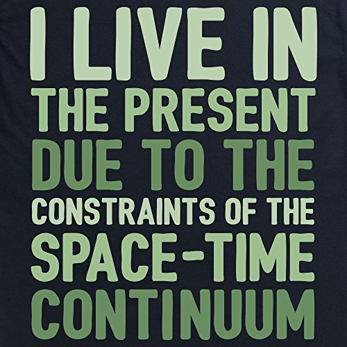 Space Time Continuum T-Shirt, Herren Schwarz