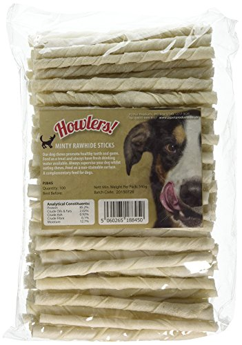 howlers-minty-flavour-fresh-breath-rawhide-sticks-125-cm-pack-of-100