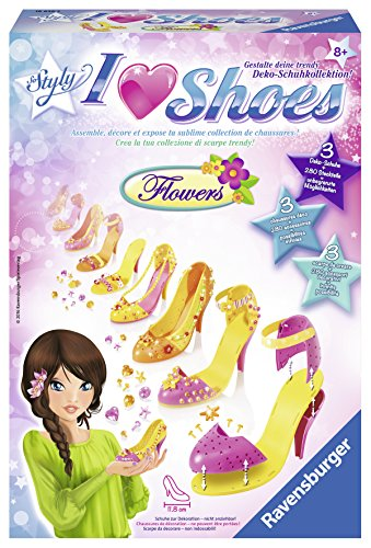 Preisvergleich Produktbild Ravensburger So Styly 18636 - I Love Shoes Flowers