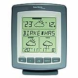 WetterDirekt Wetterstation WD 9565 mit Innen-/Außentemperaturanzeige, Wettervorhersage für 3 Tage und Pollenfluganzeige