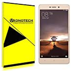 Axonotech Xiaomi Redmi 3S / 3S prime Premium [Crystal Clear] Tempered Glass Screen Protector / Screedn Guard with 9H Hardness, 2.5D Curved Edge, Ultra Clear, Anti-Scratch, Bubble Free, Anti-Fingerprints