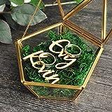 """""""N/A"""" Terrarium géométrique Boîte à bague en verre Boîte à bijoux en cuivre Boîte à bijoux Boîte à bijoux personnalisée Boîte"""