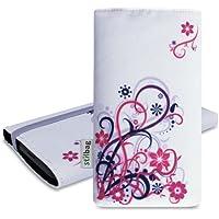 Stilbag Tasche 'MIKA' für Samsung Galaxy S5 mini - Design: Blooming Pink