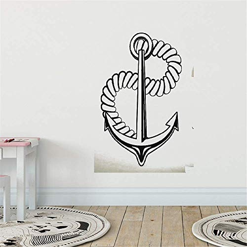 mer Wandaufkleber Schlafzimmer Beste Mode Seeanker Sea Ocean Home Decor Arts Hot ()