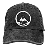 uykjuykj Mountain Hand-Drawn with Ink-1 Vintage Jeans Baseball Cap Comfortable Trucker Cap Sport for Men Women