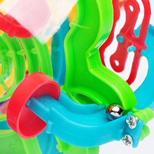 Puzzle bola laberinto 3D | Pelota pasatiempos laberinto | Juego Puzzle mágico intelecto educativo | Esfera puzle didáctica PERPLEXUS | Puzzle 3D rompecabezas