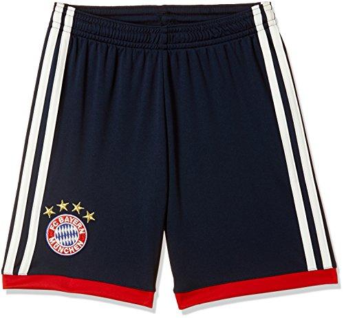 adidas Kinder Replica Fc Bayern München Auswärtsshorts, Conavy/Fcbtru, 140 (Dunkelblau-fußball-socken)