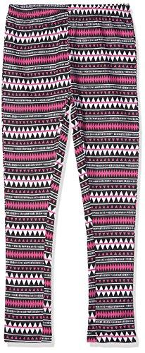 Lina Pink Mädchen Schlafanzughose EF.MEXIC.Leg, Schwarz Noir, 12 Jahre