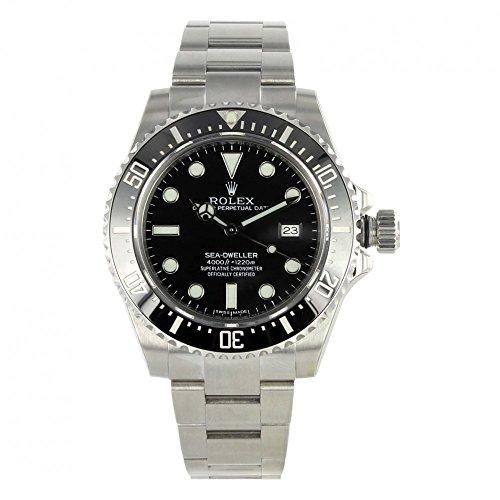 Rolex sea-dweller 4000Edelstahl Armbanduhr 116600ungetragen mit Box/Papers (Rolex Box)