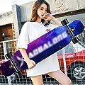 ZXCMNB Roller Ahorn Longboard Junge Mädchen Pinsel Street Dance Board Anfänger Erwachsene Teen Allrad Skateboard Skateboards