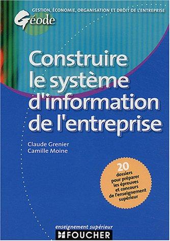 Géode : Construire le système d'information