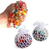 #4: Squish Ball Stress Relief Mesh Squishy Ball Squish Balls for Stress Relief Hand Movement Gag Toy Pack of 1