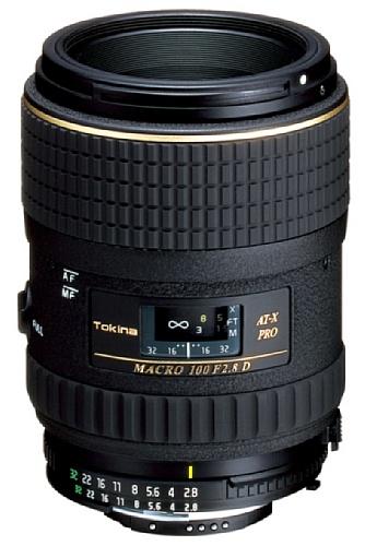 Tokina AT-X M100/2.8 Pro D Makro-Objektiv (55 mm Filtergewinde, Abbildungsmaßstab 1:1) für Canon Objektivbajonett