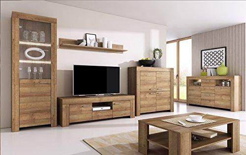 Wohnzimmer Set Wohnwand Anbauwan...