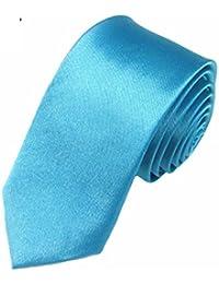 Mivera Premium Solid Color Necktie , Slim Neck Tie For Men, 2inch Width, Formal Neck Tie, Skinny Neck Tie For... - B01N1Z7ZY8