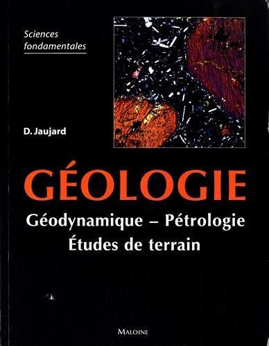 Géologie par D Jaujard