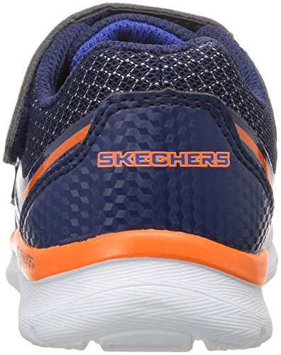 Skechers Skech-Lite-Fast Stepz, Scarpe da Ginnastica Basse Bambino Blu (nvor)