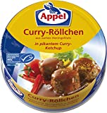 Appel Curry-Röllchen, aus zerkleinerten Heringsfilets in pikantem Curry-Ketchup, MSC zertifiziert, 200 g