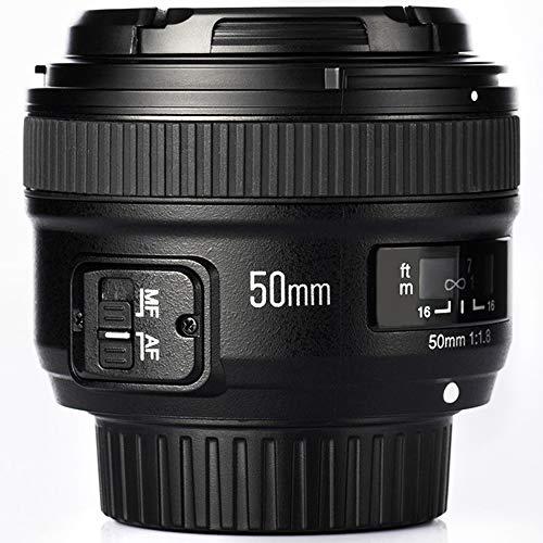 YONGNUO 50mm Standard Prime-Objectif F1.8 pour Appareil Photo numérique Nikon
