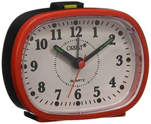 Orpat Beep Alarm Clock (Red, TBZL-607)