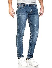 BLZ jeans - Jean classique bleu délavé coupe slim