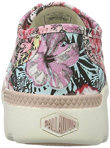 Palladium Damen Pallaville Cvs Sneaker Pink (Rose Dust/Marshmallow/Hawaii Print)