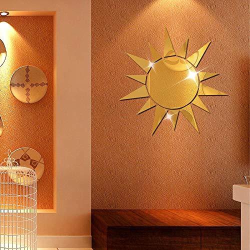 Sonnenbrille Gesicht Dreidimensionale Acryl Wandaufkleber 3D Umweltschutz Hintergrund Kristall Wandaufkleber Hintergrund Wanddekoration @ 04