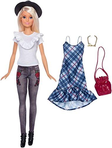 Barbie Fashionista, Muñeca Hipster style, juguete +7 años (Mattel FJF68)