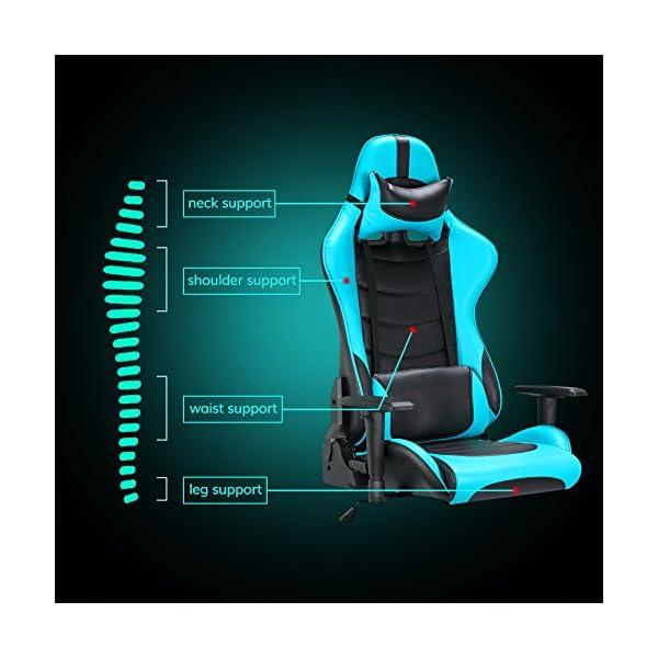 IntimaTe WM Heart Sillón Gaming de Piel sintética 3D, Respaldo reclinable ergonómico, cojín Lumbar y Ajustable reposabrazos de Oficina, con Ruedas giratorias, Rojo, 836334