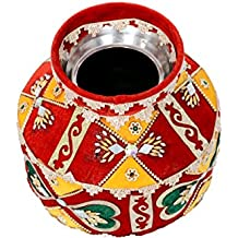 Wedding Solutions Multi-Coloured Pooja Kalash with Decoration