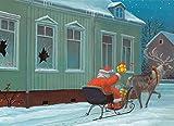 Postkarte A6 • 16043 ''Schöne Bescherung'' von Inkognito • Künstler: Gerhard Glück • Weihnachten