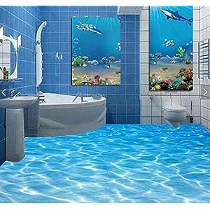 3d Boden Aufkleber Bad | Dein-Wohntrend.de