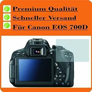 2x Canon EOS 700D Entspiegelnde Displayschutzfolie Bildschirmschutzfolie von 4ProTec - Nahezu blendfreie Antireflexfolie