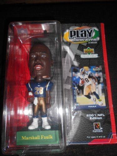 Playmakers 2001 NFL Marshall Faulk Bobblehead Home by NFL, UPPER DECK Marshalls Home Goods