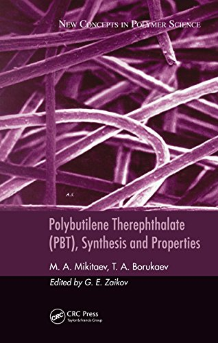 Polybutilene Therephthalate (PBT), Synthesis and Properties: 29 por Mikitaev