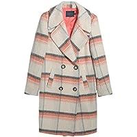 La nuova caduta e Etero giacca invernale modo delle signore Cappotto lungo doppio petto di (Tamburo Con Collare)