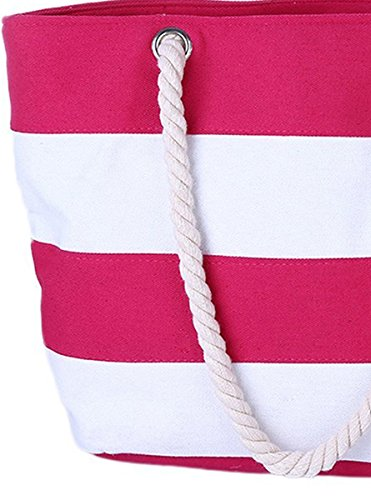LAAT , Borsa da spiaggia  Rosy 17.7 x 5.5 x 12.6 Rosy