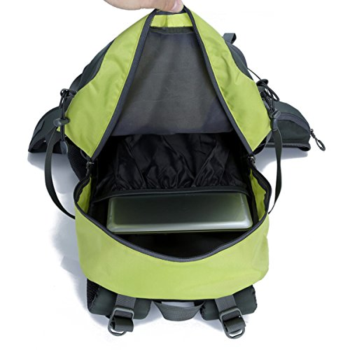 Lässige Kleidung Nylon Reise Tasche Sport Rucksack Für Männer Frauen Green