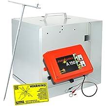 elettrificatore a 150+ Metallo trasporto Box + Anti furto Lamp Post–Forte elettrificatore zum konkurrenzlosen prezzo